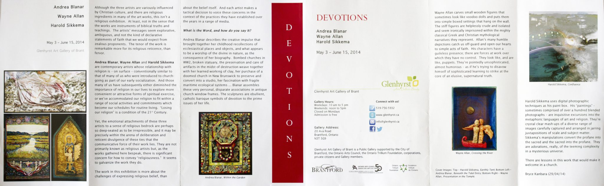 Devotions Brochure